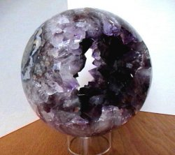 Amethyst Quartz Hollow Sphere