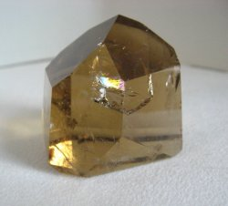 Citrine Quartz Channeling Point