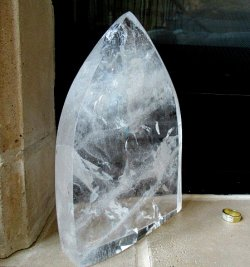 Clear Quartz Arch Sculpture