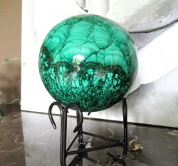 XL Malachite Sphere