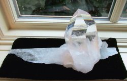 Clear Quartz Recordkeeper Point on Shard