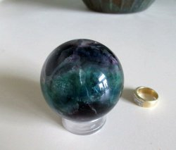 Small Fluorite Sphere
