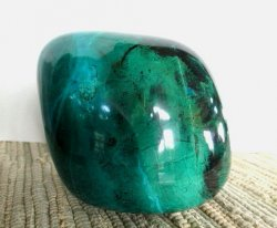 **SOLD**Chrysocolla Polished Rock