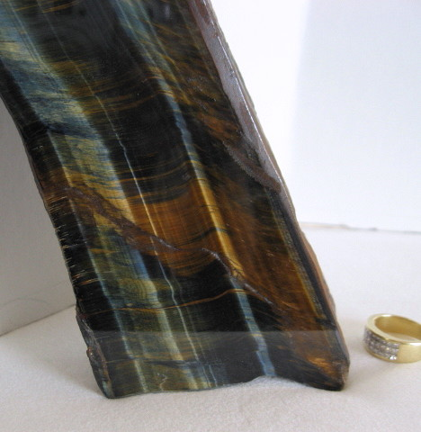 **Sold**Tiger's Eye Natural/Polished Quartz - Click Image to Close